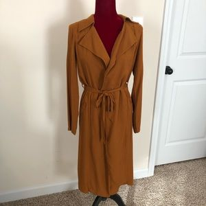 Forever 21 trench style jacket, lightweight, small